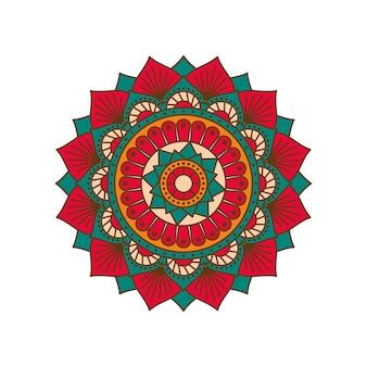 Vector gekleurde mandala