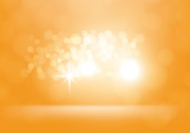 Vector gele abstracte achtergrond met flitsen