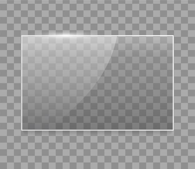 Vector glazen frame