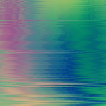 Vector glitch achtergrond. vervorming van digitale beeldgegevens. kleurrijke abstracte achtergrond voor uw ontwerpen. chaos-esthetiek van signaalfout. digitaal verval.