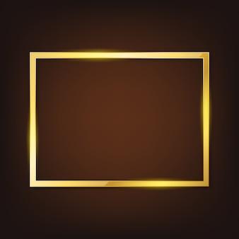 Vector gouden frame.