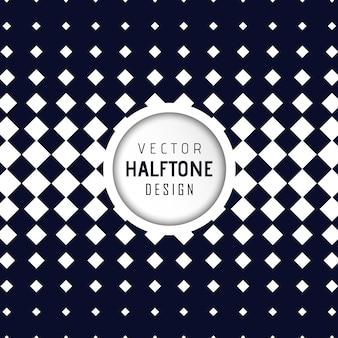 Vector halftone ontwerp achtergrond