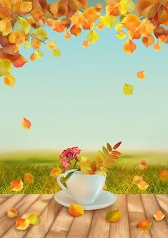 Vector herfst achtergrond