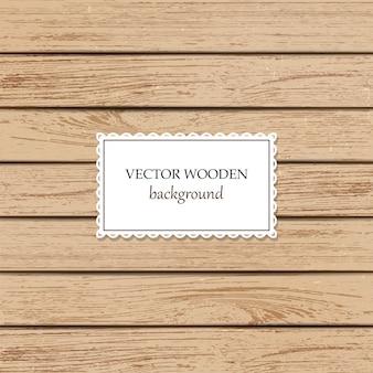 Vector houten achtergrond. licht gekleurde beige houten natuurlijke planken.