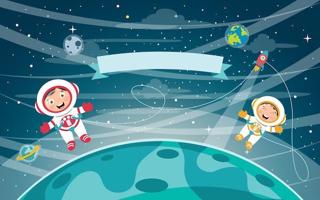 Vector illustratie van de ruimte