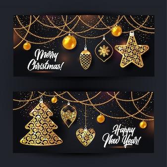 Vector illustratie van kerstmis achtergrond