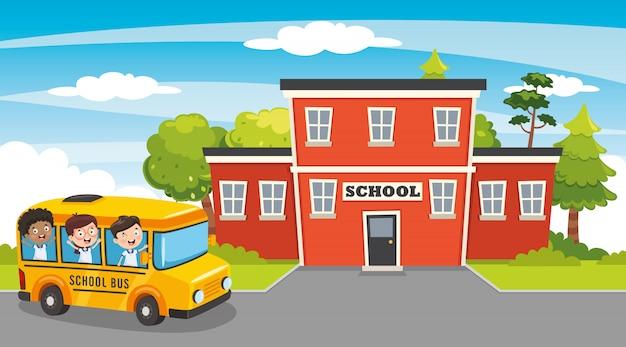 Vector illustratie van onderwijs elementen