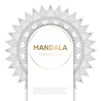Vector indiase mandala