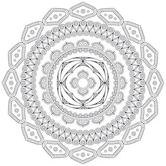 Vector indische mandala