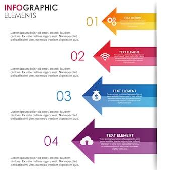 Vector ingographics-ontwerpen