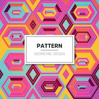 Vector kleurenpatroon