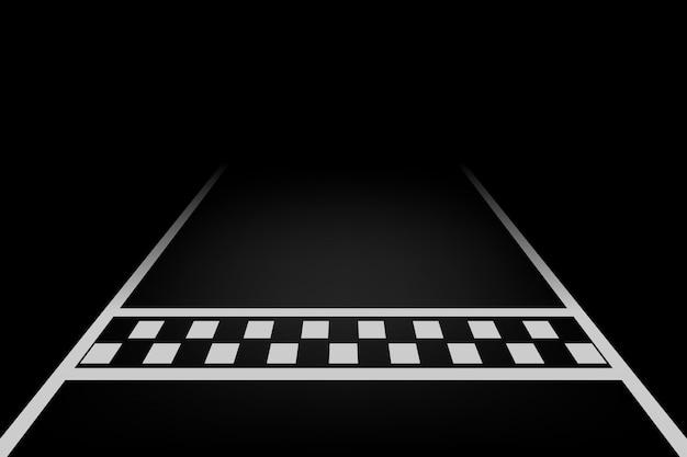 Vector lijn race achtergrond