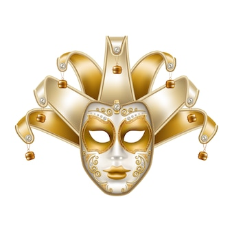 Vector mardi gras venetiaans masker brazilië carnaval