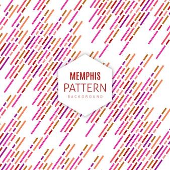 Vector memphis patroon achtergrond