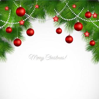 Vector merry christmas wenskaart