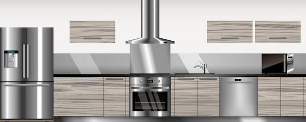 Vector moderne keuken