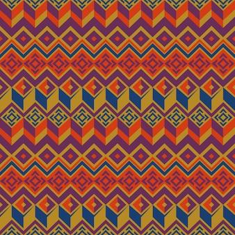 Vector naadloos etnisch patroon.