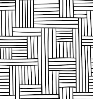 Vector naadloos geometrisch patroon. abstracte illustratie