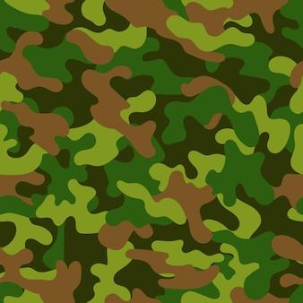 Vector naadloos militair camouflagepatroon. naadloze vector abstracte achtergrond