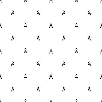 Vector naadloos patroon, kompassen, bewerkbaar kan worden gebruikt voor webpagina-achtergronden, opvulpatronen