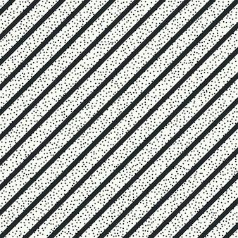 Vector naadloos patroon met hipsteranker