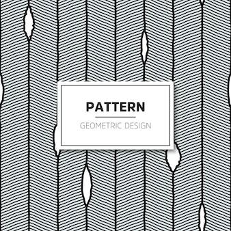 Vector naadloos patroon. moderne stijlvolle textuur met golvende strepen.