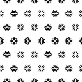 Vector naadloos patroon, oranje, bewerkbaar kan worden gebruikt voor webpagina-achtergronden, opvulpatronen