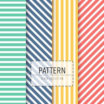 Vector naadloos patroonpak