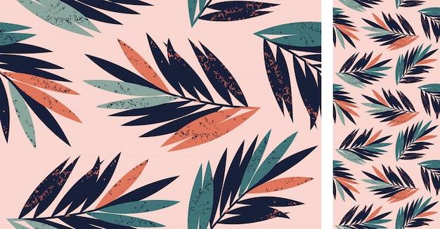 Vector naadloos tropisch patroon