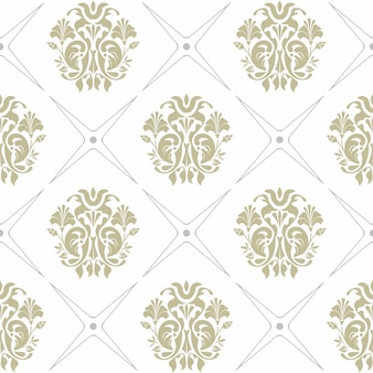 Vector naadloze achtergrond van groene en grijze kleuren op witte achtergrond