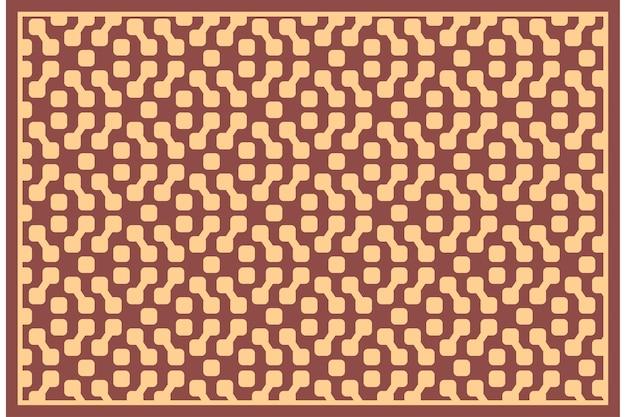 Vector naadloze herhalingspatroon vintage stijl textuur achtergrond illustreren door herhalen