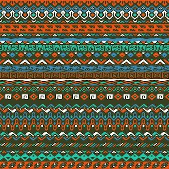 Vector naadloze tribal stijl patroon