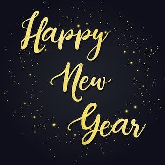 Vector nieuwjaar 2018 achtergrond
