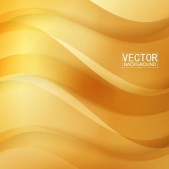 Vector prachtig gouden satijn