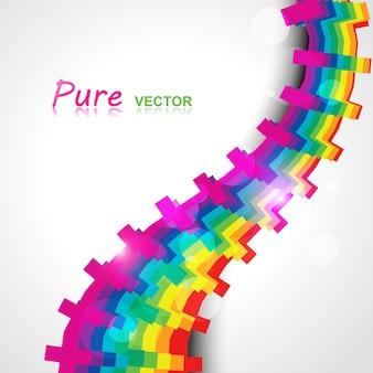 Vector regenboog kleur eps10 ontwerp