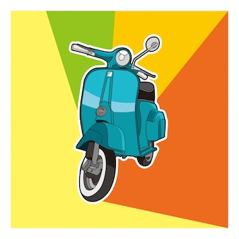 Vector scooter