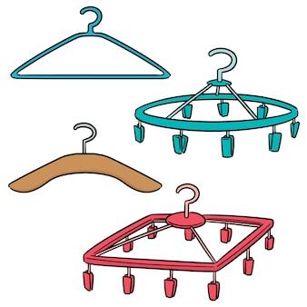 Vector set hangers