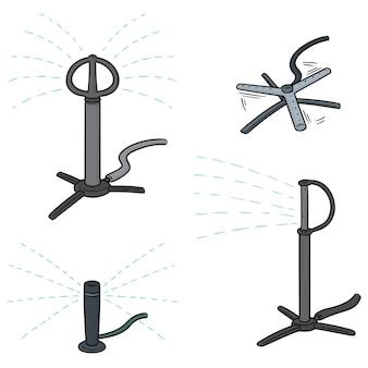 Vector set sprinklers