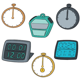 Vector set stopwatch