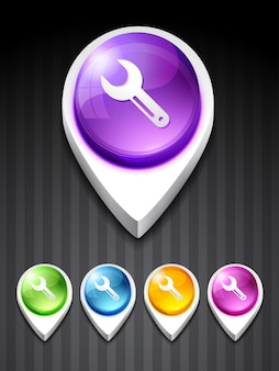 Vector setting icon design art