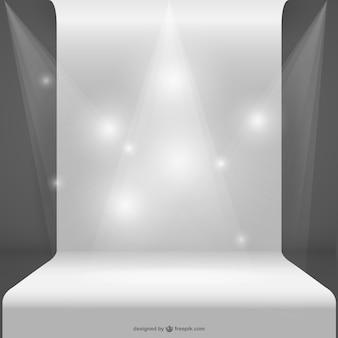 Vector spotlight sjabloon