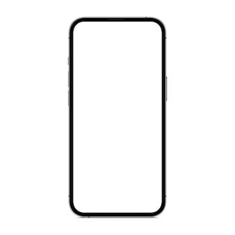 Vector tekening nieuwe telefoon geïsoleerd op een witte achtergrond
