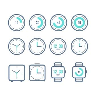 Vector timers ingesteld