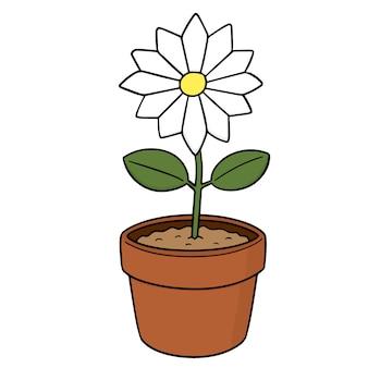 Vector van bloem