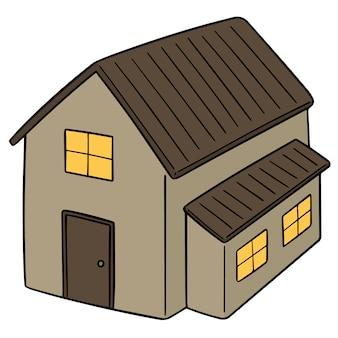 Vector van huis