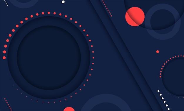 Vector van moderne abstracte geometrische achtergrond