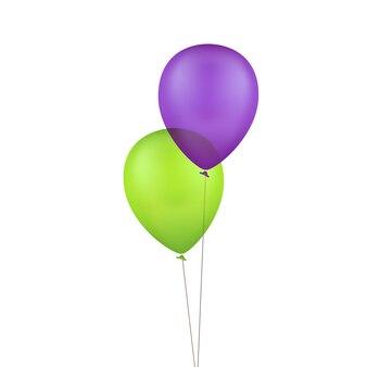 Vector veelkleurige kleurrijke ballonnen