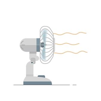 Vector ventilator elektrisch met wind luchtstroom