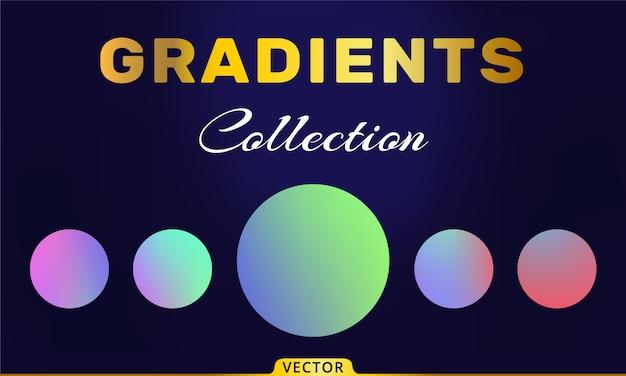 Vector verlopen collectie
