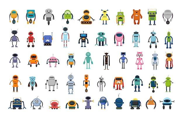 Vector verzameling robots